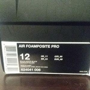 Air Foamposite pro box